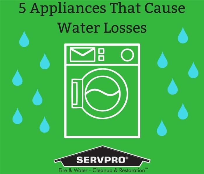 Mold Remediation 5 Appliances That Could Cause A Water Loss